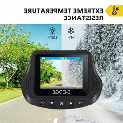Dual Dash Cam, Z-EDGE S3 Ultra HD 1440P Front & 1080P Rear 1