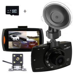 Dual Dash Cam Backup Camera with FHD 1080P Resolution 2.7''L