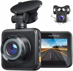 Dual Dash Cam for Cars Front and Rear with Night Vision 1080