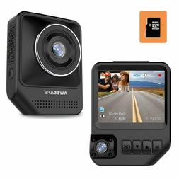 AWESAFE Dual Dash Cam for Cars Front and Inside Dash Cam