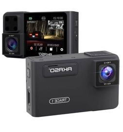 Dual Dash Cam Front and Inside - AKASO Dash Camera for Cars