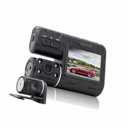 Dual Dash Cam, Front and Rear Dual Camera for Cars, 340 Degr