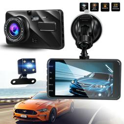 Dual Dash Cam Front and Rear G-sensor Parking Mode 140 170 W