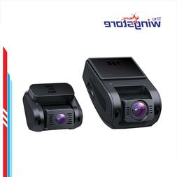 Dual Dash Cam HD 1080P Front and Rear With Lens Night Vision