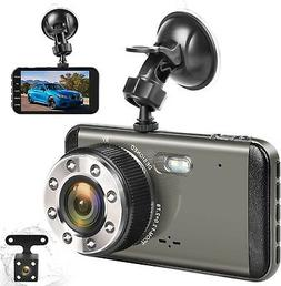Effort Dual Dash Cam HD Front And Rear,H3 Night Vision Car C