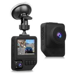 Dual Dash Cam, T818 1080P Full HD Cars Front and Inside Dash