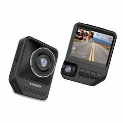 Dual Dash Cam for Cars 1080P Front and Rear Inside Cameras A