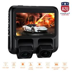 Dual Dash Cam X100 Pro Dash Camera for Cars/Uber/Lyft/Truck/