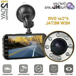 Dual dash car cam, Mi Yang FHD 1080P camera front and rear w