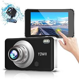 Dual Dash Camera for Cars Front and Rear, 1080p FHD Car Driv