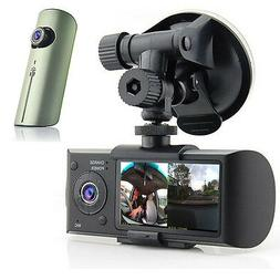 Indigi? HD Dual Camera Driving Recorder 2.7 LCD Dash-Cam Car