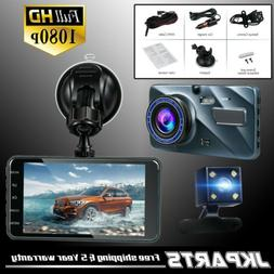 Dual Len 1080P Dash Cam G-Sensor For Truck Loop Recording Ni