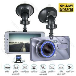 Dual Lens Car DVR Camera HD 1080P Dash Cam Video Recorder G-