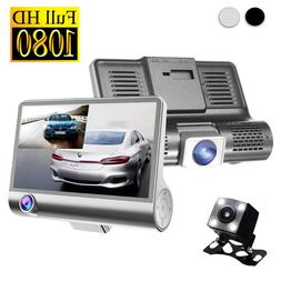 Dual Lens Dash Cam Front and Rear 1080P Full HD Dashboard Ca
