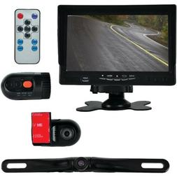 DVR Dash Cam Vehicle Driving Video Camera & Monitor System K