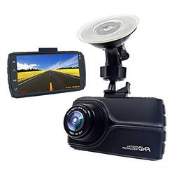 E-ACE Dash Cam With GPS 1080p Full HD Car Dashboard Camera 3