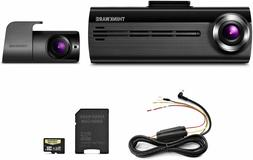 THINKWARE - F200D Front and Rear Camera Dash Cam - Gray/Blac