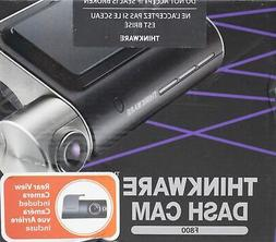 Thinkware F800D Dual Channel 1080p Dashcam with Rear Camera