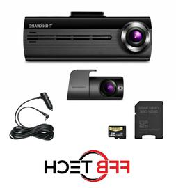 THINKWARE FA200 Dash Cam Bundle with Cigarette Power Cable,