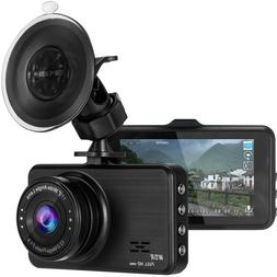 Full HD 1080P Car Dash Camera Recorder, Cam for Cars with G-