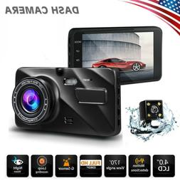 Full HD 1080P Car DVR Camera Dash Cam Night Vision Loop Reco