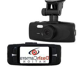 DashCameraNation G1WH Dash Camera, 36-Month Warranty, Full H