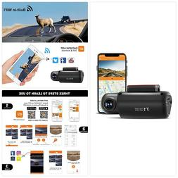 GPS Dash Camera for Cars, EACHPAI T1 Dash Cam Front 1080P wi