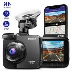 AZDOME GS63H 4K Ultra 2160P WiFi Dash Cam Car Camera DVRs wi