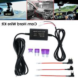 Hard Wire Mini + Micro USB DC Charger Power Kit For Car Dash