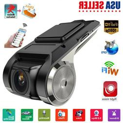 HD 1080P Wifi Car DVR Camera Video Recorder Dash Cam Night V
