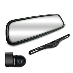 HD Video Recording System with Rearview Mirror Monitor, Dash
