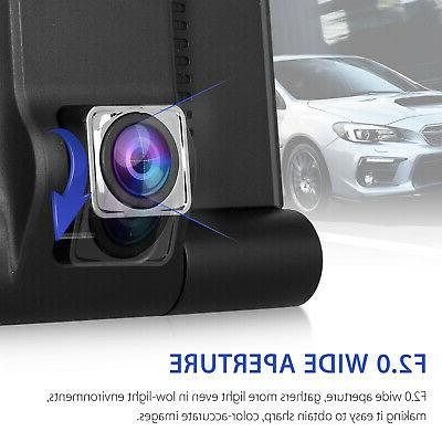 4'' Lens Cam Video Rearview
