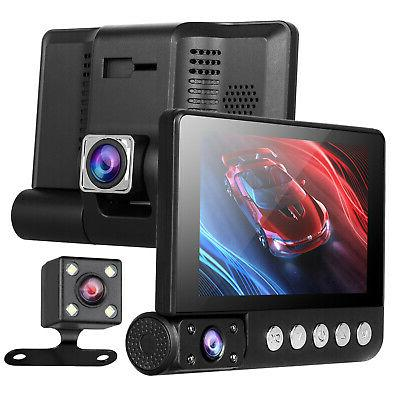 4'' Cam Vehicle Video Rearview Camera 170°