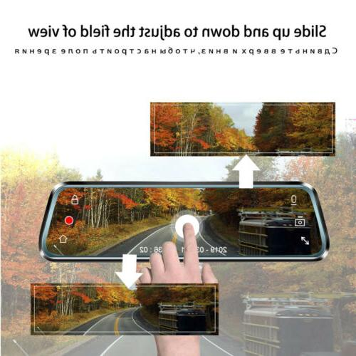 "10"" Lens DVR Rearview Mirror US"
