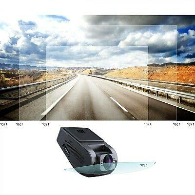 AUKEY with 170° Wide-Angle Dashboard Camera Recorder G