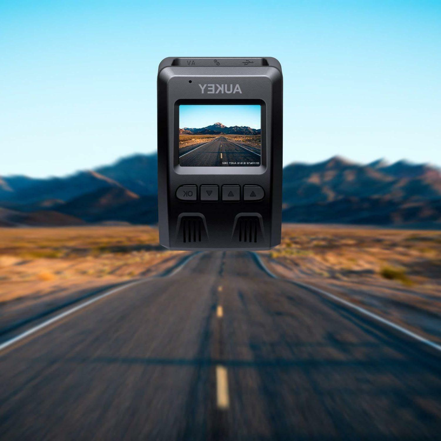 AUKEY with 6-Lane Lens, Dashboard Camera