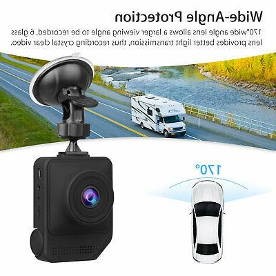 "2.3"" Car Camera Video Recorder G-Sensor Cam"