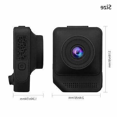 "2.3"" 1080P Lens Car Video G-Sensor Dash Cam"