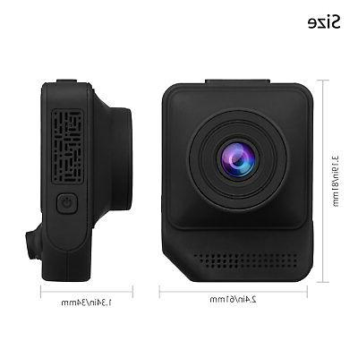 "2.3"" 1080P Car Dashboard Video G-Sensor Cam"