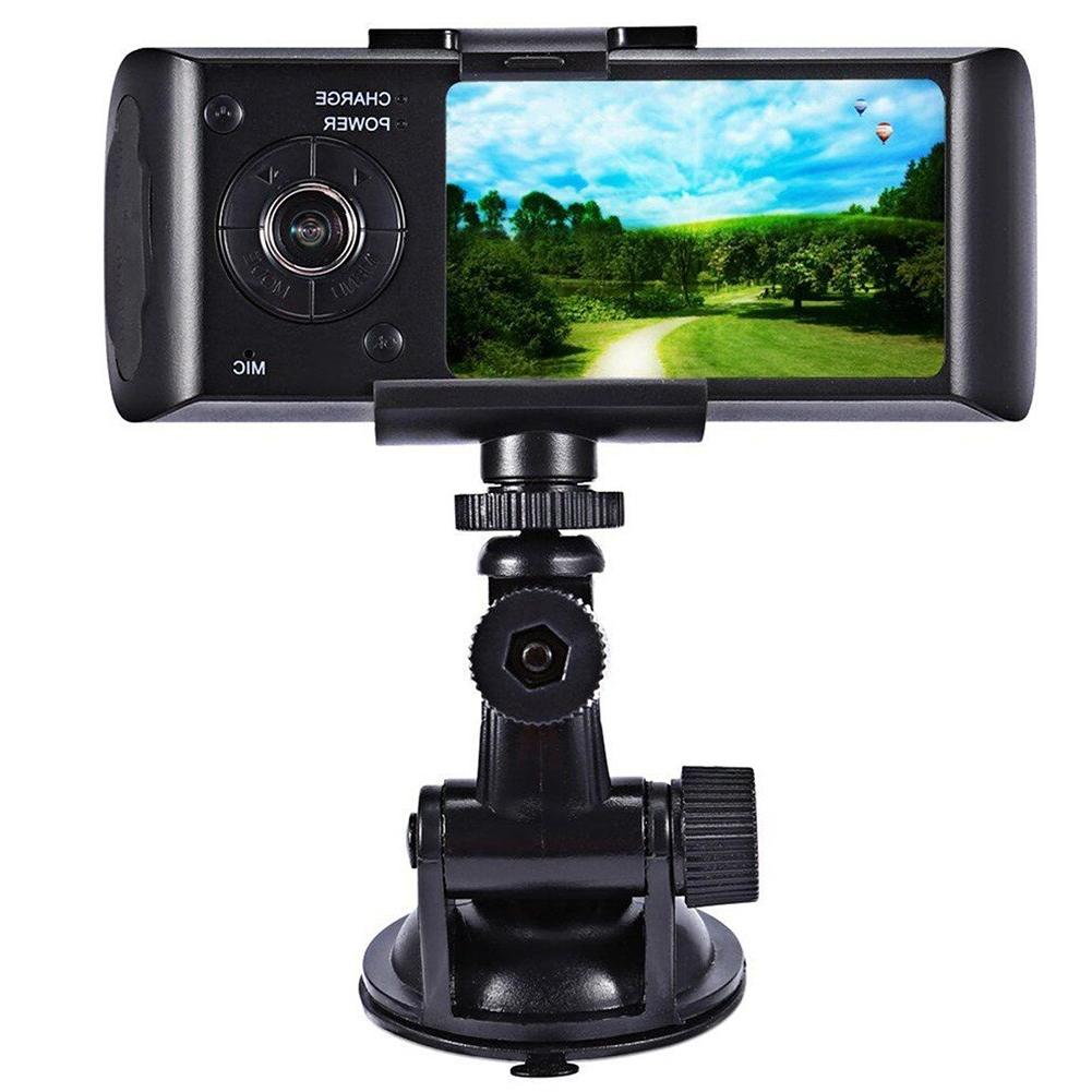 2.7 Inch Wide Driving Recorder High Sensor HD Trace Dual Lens Car Motion Detection