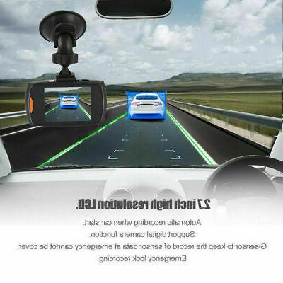 "3"" Car DVR Recorder Vision G-Sensor Camera 1080P HD Dash Cam"