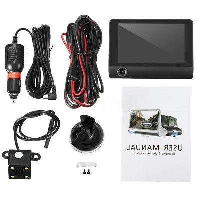 3 DVR Camera Rearview Cam Recorder Camcorder