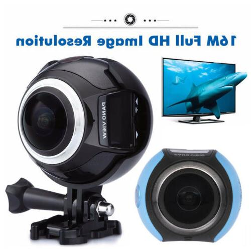 360 Wifi 1080P Panoramic Sports Action Dash Driving VR Cam