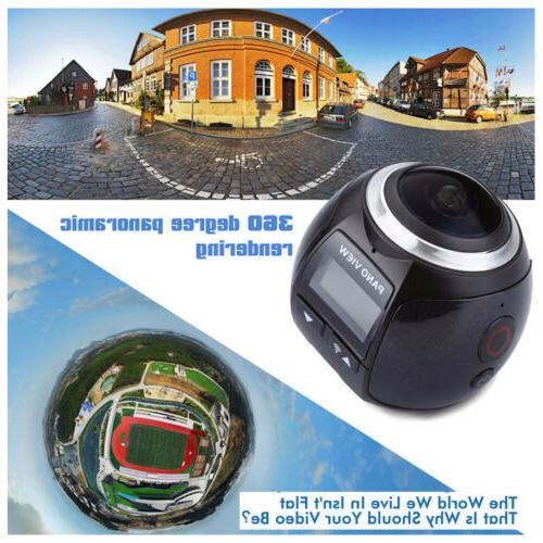 360 1080P Sports Action Driving Cam 32GB