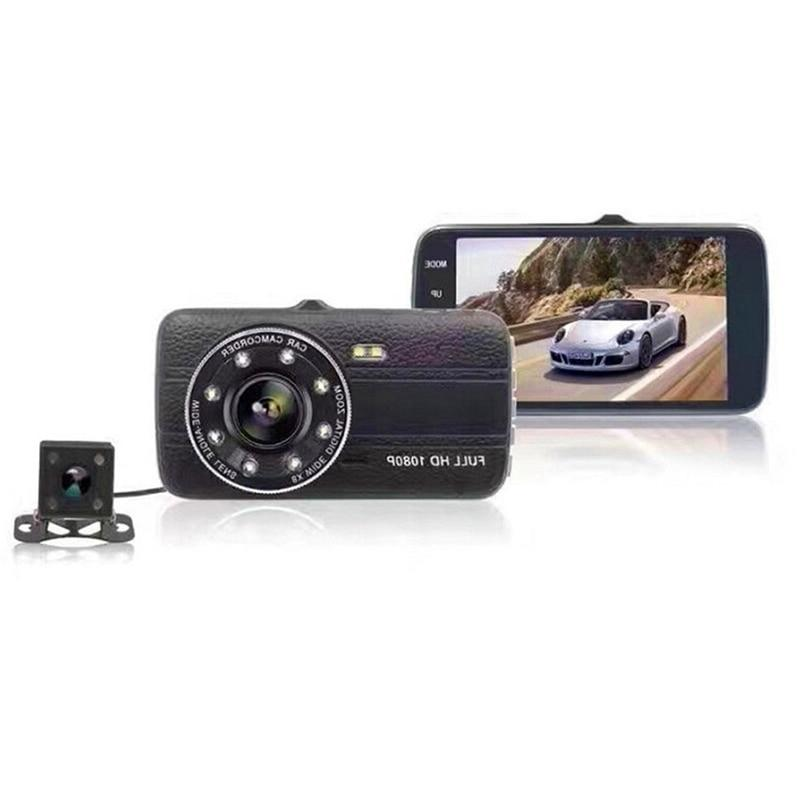 4.0 Screen Car Dvr <font><b>Camera</b></font> Dual Lens <font><b>Dash</b></font> Dvrs With <font><b>Backup</b></font> Rear View <font><b>Camera</b></font>