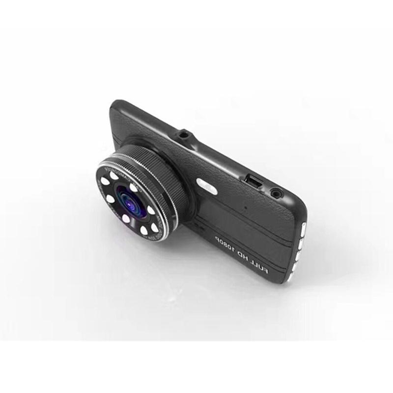 4.0 Inch Ips Car <font><b>Camera</b></font> Lens <font><b>Dash</b></font> Full Hd 1080P <font><b>Vehicle</b></font> Night-Vision Dvrs With <font><b>Backup</b></font> Rear View