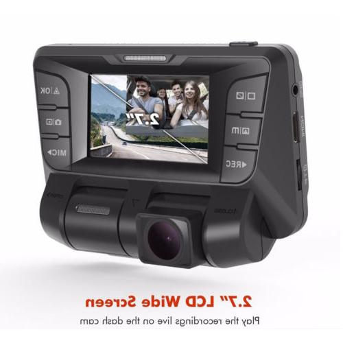 4K hidden Car DVR Video Dash lens Vehicle Recorder