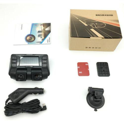 4K Dash dual Vehicle Cam Recorder
