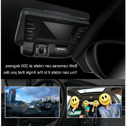 4K hidden Wifi Car Dash Vehicle Cam Recorder