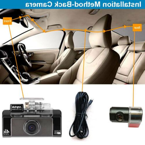 4K Cam Camera Recorder Car DVR Anytek G200 32GB
